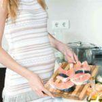 Правильное питание беременной в первом триместре