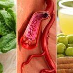Продукты при повышенной и пониженной свертываемости крови